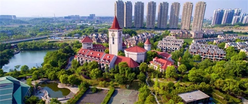 杭州育澜学校全景图