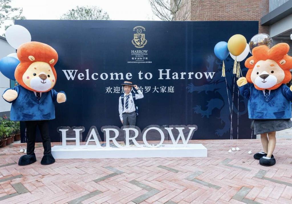 深圳前海哈罗外籍人员子女学校入学第一天